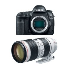 Canon EOS 5D Mk IV Hus m. EF 70-200mm F2.8L III (Cashback)