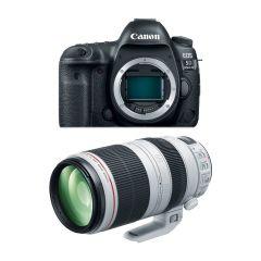 Canon EOS 5D Mk IV Hus m. EF 100-400mm F4.5-5.6L (Cashback)