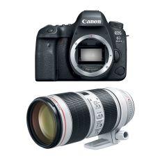 Canon EOS 6D MK II m. EF 70-200mm F2.8L III (Cashback)