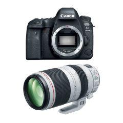 Canon EOS 6D MK II m. EF 100-400mm F4.5-5.6L II (Cashback)