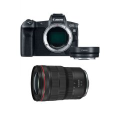 Canon EOS R Hus m. RF 15-35mm F2.8L + Adapter (Cashback)