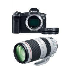 Canon EOS R Hus m. EF 100-400mm F4.5-5.6L II + Adapter (Cashback)