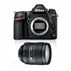 Nikon D780 m. AF-S Nikkor 24-120mm F4G ED VR (Inkl. Ekstra Original Batteri & Fordelsprogram)