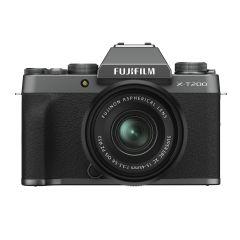 Fujifilm X-T200 m. XC 15-45mm OIS PZ Dark Silver