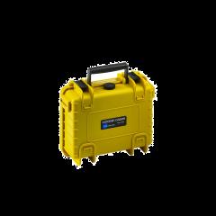 BW Outdoor Case 500 Gul med skum