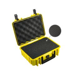 BW Outdoor Case 1000 Gul med Skum