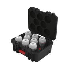 Aputure Accent B7C 8-Kit + Opladerboks
