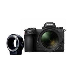 Nikon Z6 + 24-70mm f/4 S + FTZ Adapter