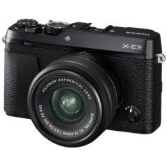Fujifilm X-E3 m. XC 15-45mm OIS PZ Sort (Cashback) (Inkl. Enetime & Online Fotokursus U/B)