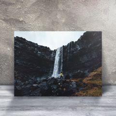 Sort vand, Fossá vandfald på Færøerne, Plakat i 50x70