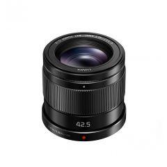 Panasonic G 42.5mm f/1.7 OIS Sort