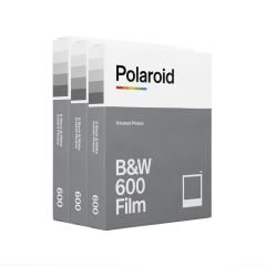 Polaroid Originals B&W Film 600 3-Pak