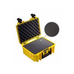 BW Outdoor Cases Type 3000 Gul (Præ-skåret Skum)