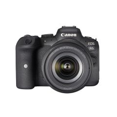 Canon EOS R6 + RF 24-105 f/4-7.1 IS STM (inkl. fordelsprogram, ekstra original batteri og sensorswaps)