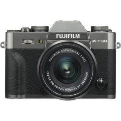 Fujifilm X-T30 m. XC 15-45mm OIS PZ Charchoal (Cashback) (Inkl. Enetime & Online Fotokursus U/B)