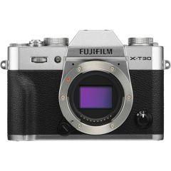 Fujifilm X-T30 Hus Sølv (Inkl. Enetime & Online Fotokursus U/B)