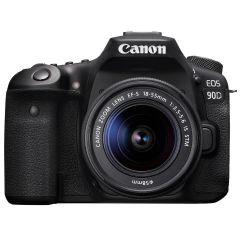 Canon EOS 90D + 18-55mm STM (Inkl. Fordelsprogram, Enetime & Online Fotokursus)