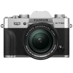 Fujifilm X-T30 m. XF 18-55mm f/2.8-4 R Sølv (Inkl. Enetime & Online Fotokursus U/B)
