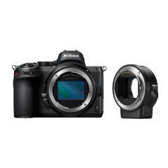 Nikon Z5 Hus + FTZ Adapter (Inkl. Fordelsprogram)