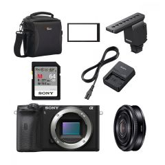 Sony APS-C Vlogger Kit (inkl. Fordelsprogram)
